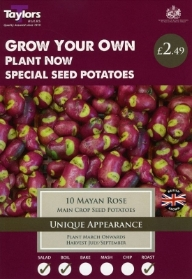 TAYLORS MAYAN ROSE X10 SPECIAL SEED POTATOES
