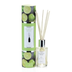 THE SCENTED HOME REED DIFFUSER LIME AND BASIL 150ML