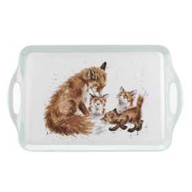 Wrendale Large Fox Tray