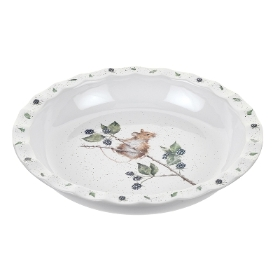 Wrendale Royal Worcester Brambles' Pie Dish