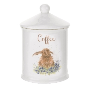 Wrendale Royal Worcester Coffee Canister