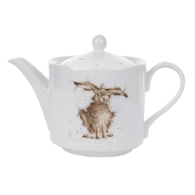 Wrendale Royal Worcester Hare Brained Teapot