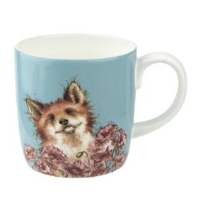 Wrendale Royal Worcester Large 'Poppy Field' Mug