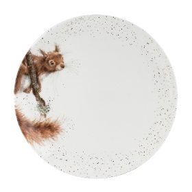 Wrendale Royal Worcester Squirrel Dinner Plate