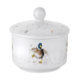 Wrendale Royal Worcester Sugar Bowl