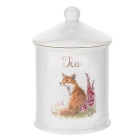 Wrendale Royal Worcester Tea Canister